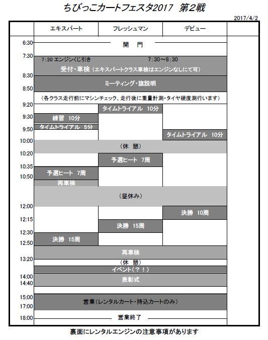 カートタイスケ 2017-2